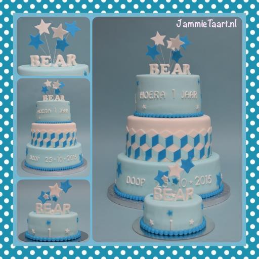 Bedwelming Voorkeur Baby Taart 1 Jaar #QAC97 - AgnesWaMu &SF32