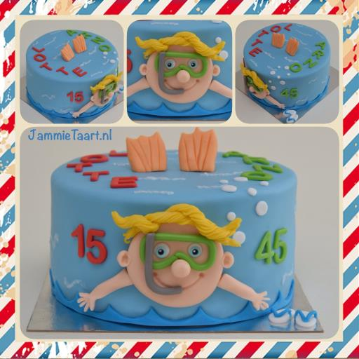 Voorkeur JammieTaart Kindertaarten #MZ14
